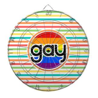 Rayas brillantes del arco iris, gay
