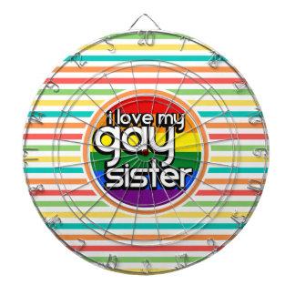Rayas brillantes del arco iris, hermana gay