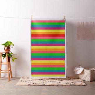 Rayas clásicas del arco iris telas