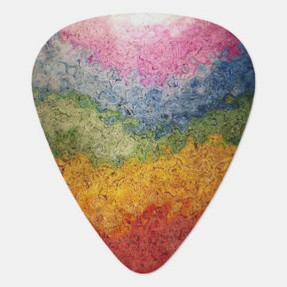 Rayas coloreadas arco iris del flujo de energía plectro