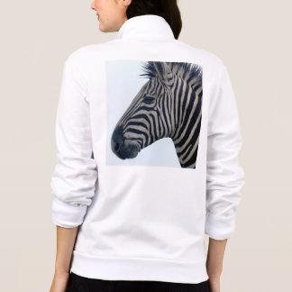 Rayas con clase africanas lindas del safari de la chaquetas imprimidas