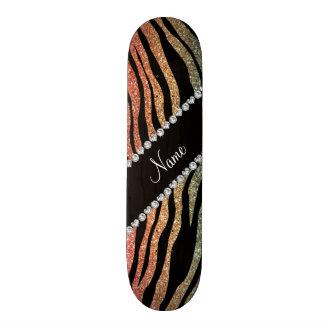 Rayas conocidas de encargo del tigre del brillo de patines