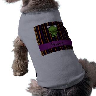Rayas conocidas personalizadas de Halloween de la Ropa De Perro