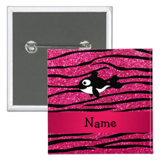 Rayas conocidas personalizadas de la cebra de la pin