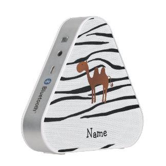 Rayas conocidas personalizadas de la cebra del altavoz