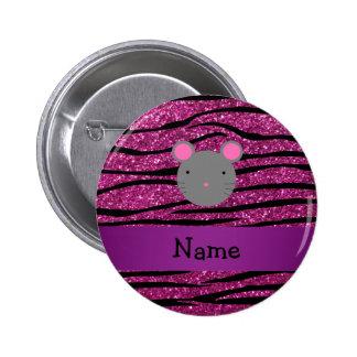 Rayas conocidas personalizadas de la cebra del bri pins