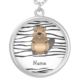 Rayas conocidas personalizadas de la cebra del cas collares personalizados