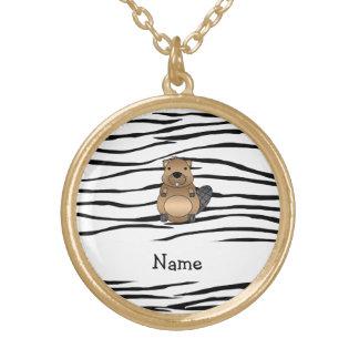 Rayas conocidas personalizadas de la cebra del grimpola
