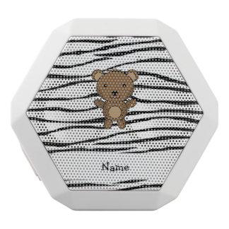 Rayas conocidas personalizadas de la cebra del oso