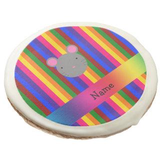 Rayas conocidas personalizadas del arco iris de la