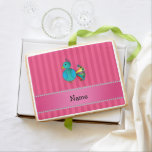Rayas conocidas personalizadas del rosa del pavo