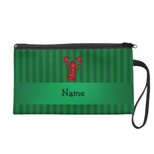 Rayas conocidas personalizadas del verde de la