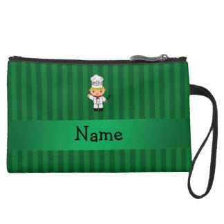 Rayas conocidas personalizadas del verde del cocin