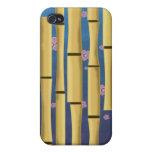 Rayas de bambú iPhone 4 cobertura
