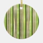 Rayas de bambú ornamento para reyes magos