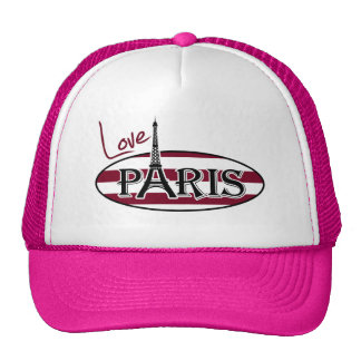 Rayas de Borgoña; Torre Eiffel Gorras De Camionero