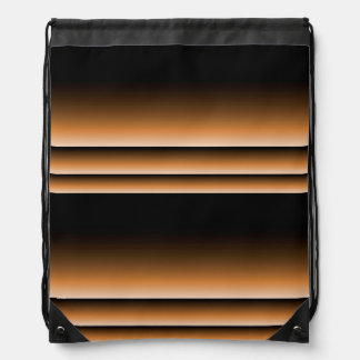 Rayas de cobre de bronce metálicas de Brown Ombre Mochila