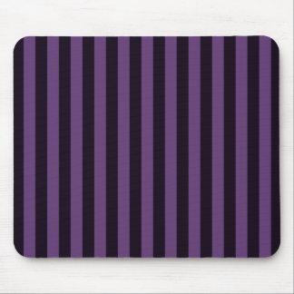 Rayas de color de malva púrpuras gráficas alfombrilla de raton