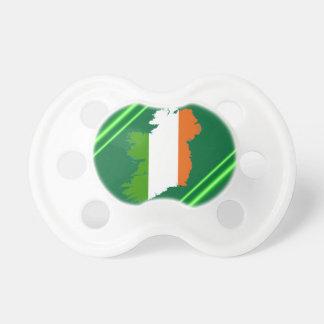 Rayas de Irlanda de Kenneth Yoncich Chupetes Para Bebés