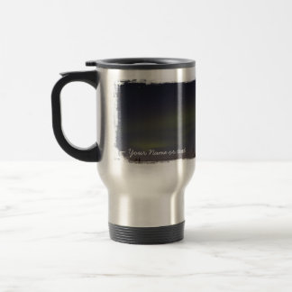 Rayas de la aurora boreal; Personalizable Taza De Café