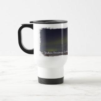 Rayas de la aurora boreal; Recuerdo del Yukón Tazas De Café