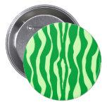 Rayas de la cebra - sombras de la verde lima