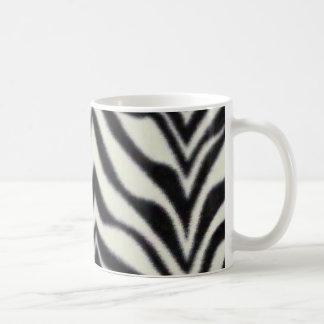 rayas de la cebra tazas de café