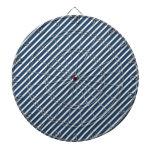 Rayas de la diagonal de los azules marinos tabla dardos