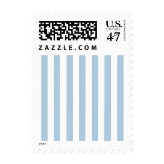RAYAS DE LA MODA STAMP_21 BLUE/WHITE TIMBRE POSTAL