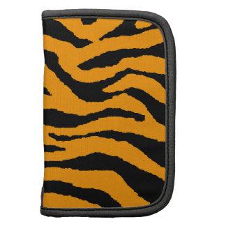 Rayas de neón del tigre del tigre 80s de Corey Planificadores