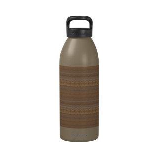 Rayas de Ombre en botella de agua de la libertad d