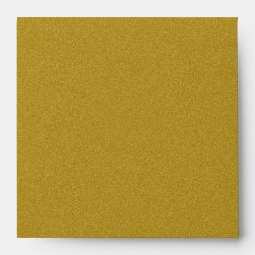 Rayas de oro de la cebra del dulce dieciséis del sobres