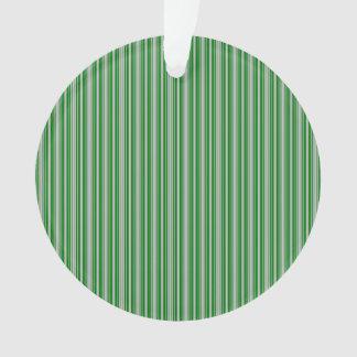 Rayas de plata y verdes del navidad