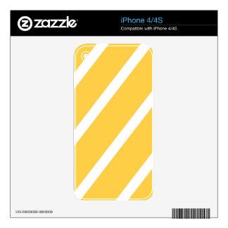 Rayas de Sunglow Calcomanías Para El iPhone 4