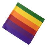 Rayas del arco iris bandanas