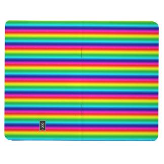 Rayas del arco iris cuaderno