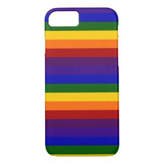 Rayas del arco iris funda iPhone 7