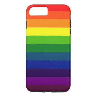 ¡RAYAS DEL ARCO IRIS! FUNDA iPhone 7 PLUS
