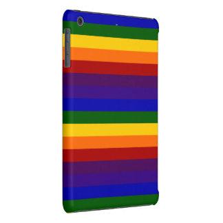 Rayas del arco iris fundas de iPad mini retina