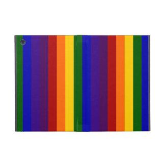 Rayas del arco iris iPad mini fundas