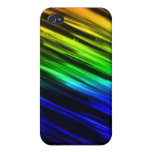 Rayas del arco iris iPhone 4 protector