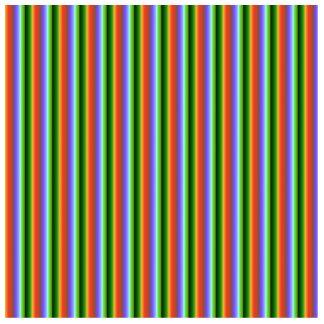 Rayas del arco iris. Modelo multicolor de la diver Escultura Fotográfica