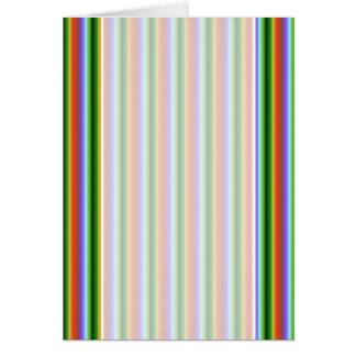 Rayas del arco iris. Modelo multicolor de la diver Tarjeton