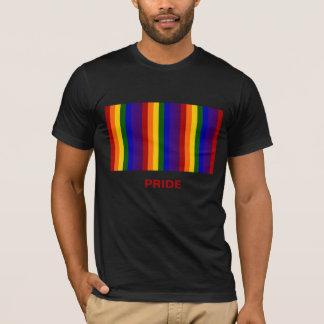 Rayas del arco iris playera
