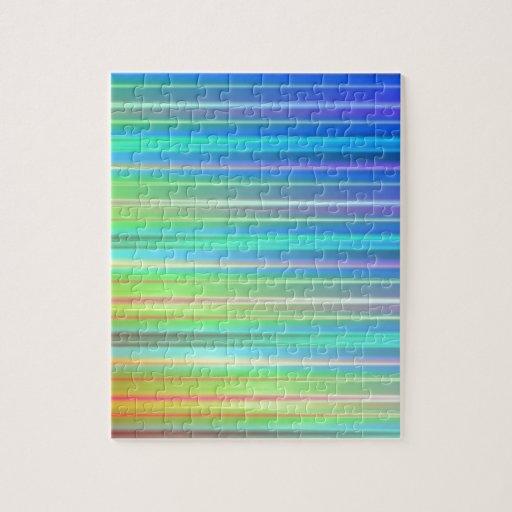 Rayas del arco iris puzzle