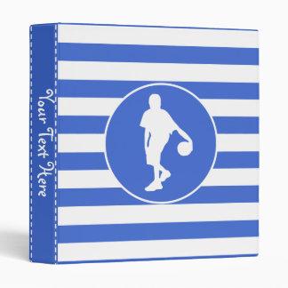 Rayas del azul real y del blanco; Baloncesto