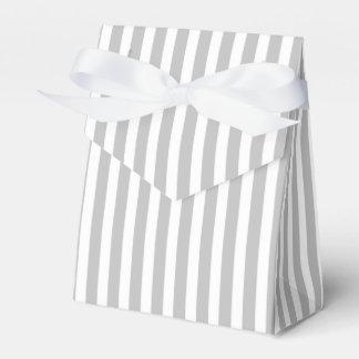 Rayas del bastón de caramelo del navidad en blanco cajas para regalos