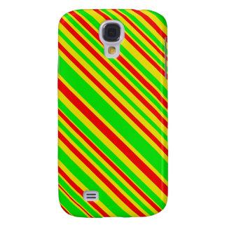 Rayas del caramelo de Rasta Funda Para Galaxy S4
