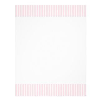 Rayas del caramelo del rosa en colores pastel tarjetas publicitarias