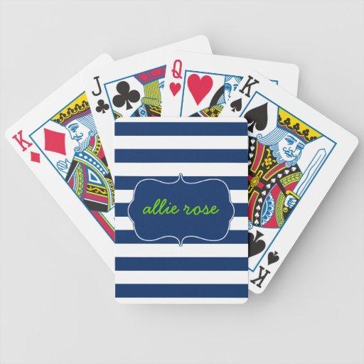 Rayas del centro turístico en Lapis Baraja Cartas De Poker